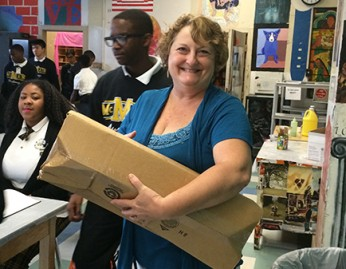 Teacher's Fund Winners get their supplies!