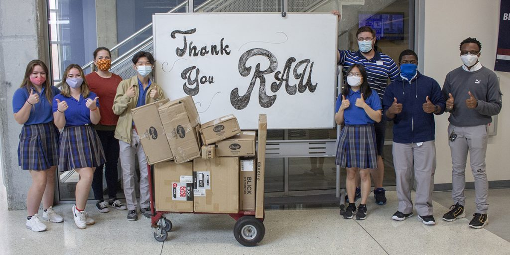 Rau for Supply Delivery